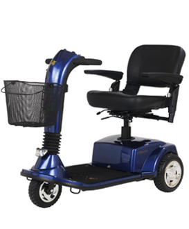 Companion Full Size GC340 Mobility Scooter 3-Wheel Golden Tech
