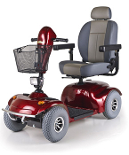 Avenger GA541 Mobility Scooter Heavy Duty 4-Wheel Golden Tech