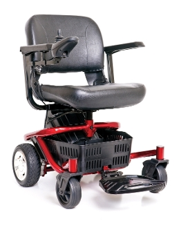Travel Power Wheelchair LiteRider PTC GP160 Electric Wheelchair